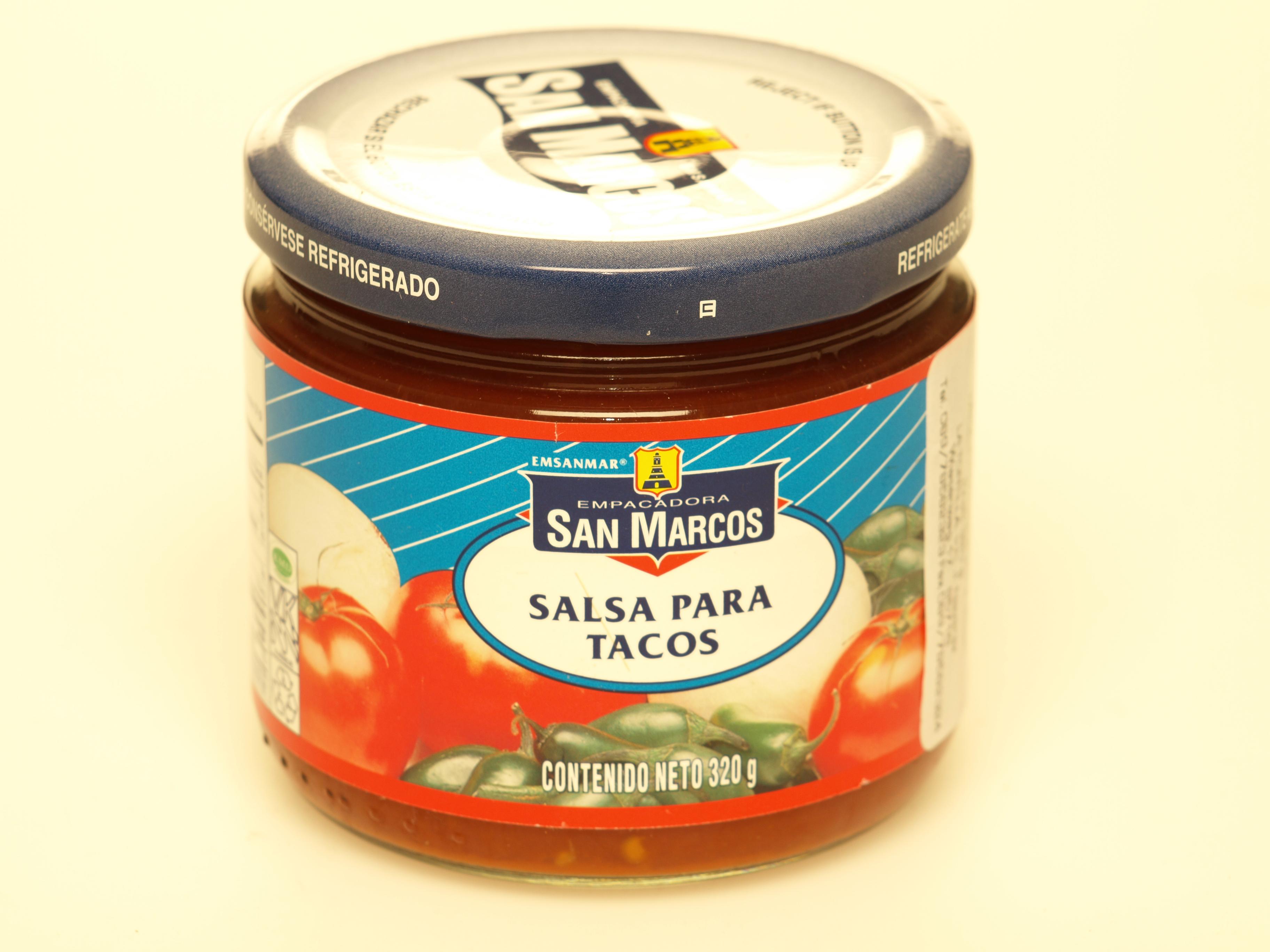 Salsa para tacos, 320 g - LA TORTILLA - Webshop